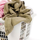 Wash clothes with cold water