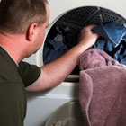 Avoid over-drying clothes
